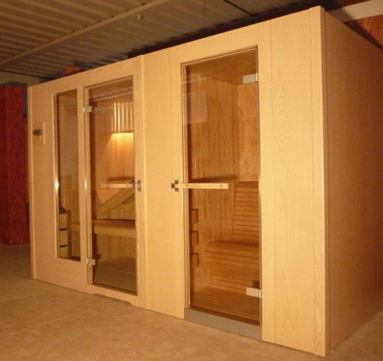 Sauna-bagnoturco