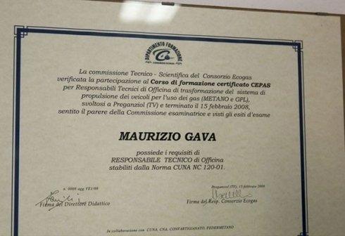 certificato CEPAS