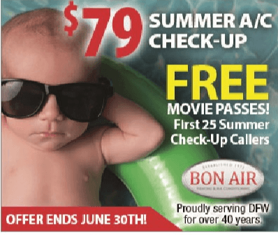 FREE First 25 summer checkups