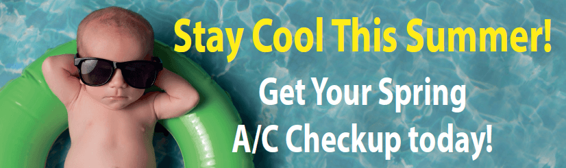 Stay Cool - Special Spring A/C Check up expires 5-31-16