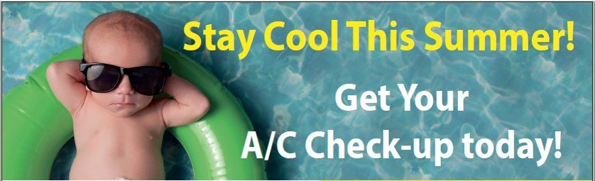 Stay cool with Bon Air - Get your Summer A/C Check-up