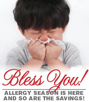 allergy season - air purfication system