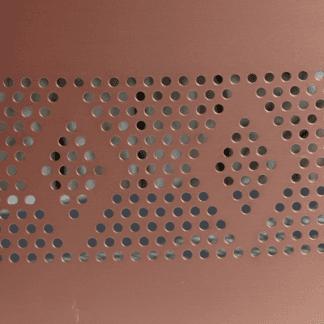 Lamiere forate per ventilazione