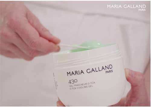 Immagine di una crema di bellezza di marca Maria Galland
