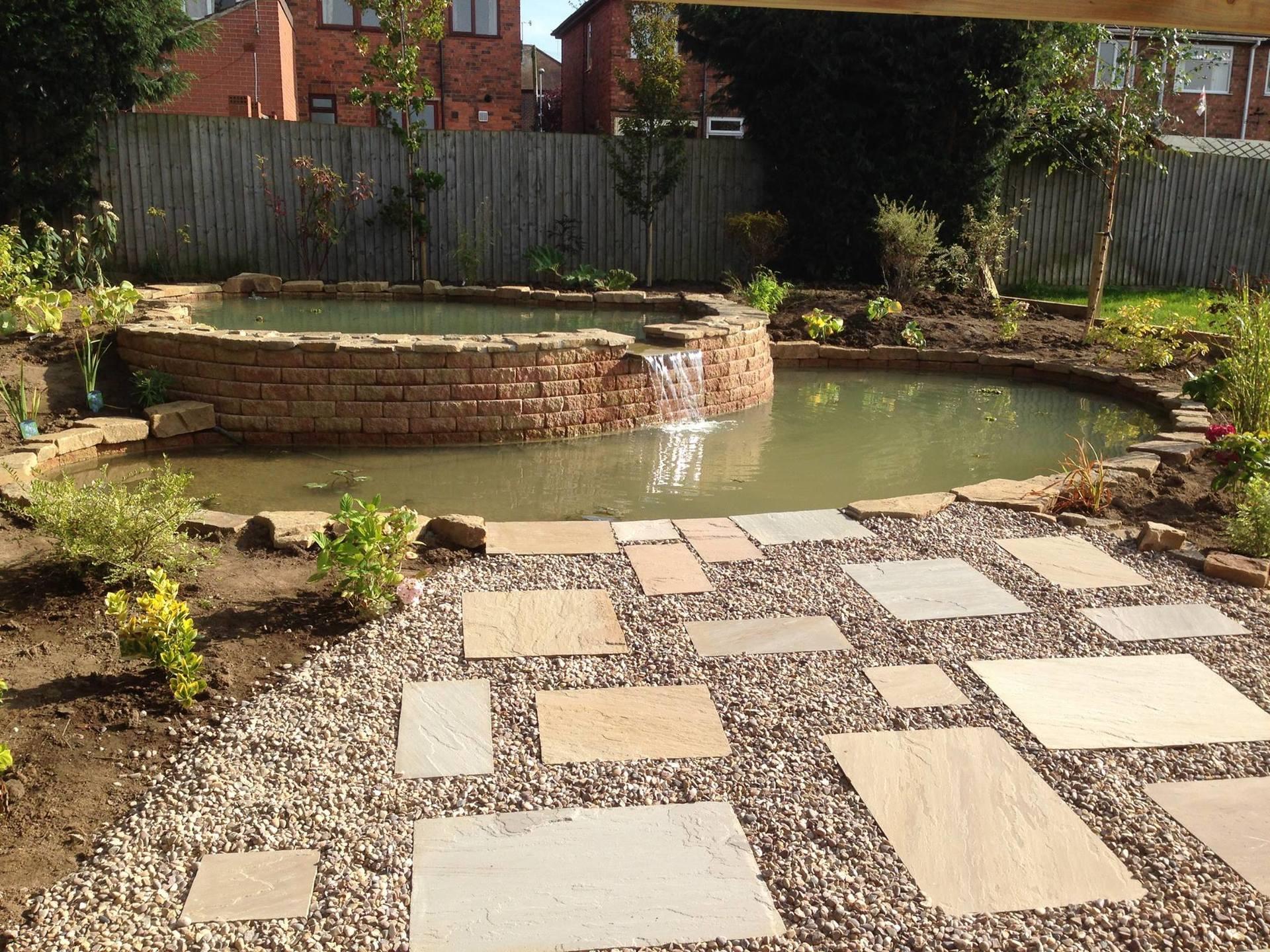 garden stone work