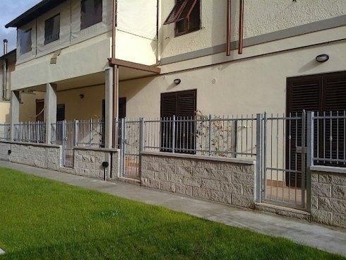recinzione in acciaio
