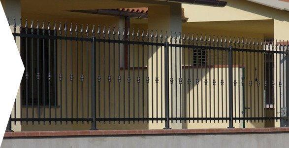 recinzioni in ferro battuto