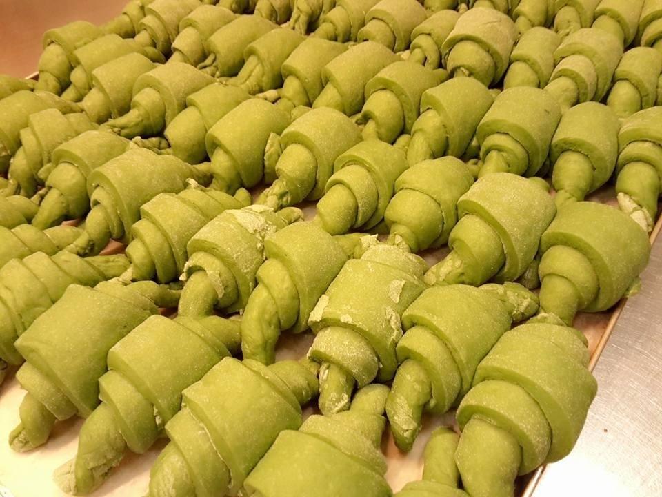 Brioches vegane con alga Spirulina