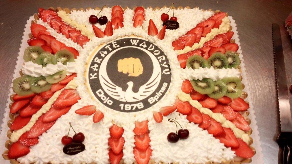 Karate Wadoryu Dojo Spinea 40°Anniversario 1976-2016