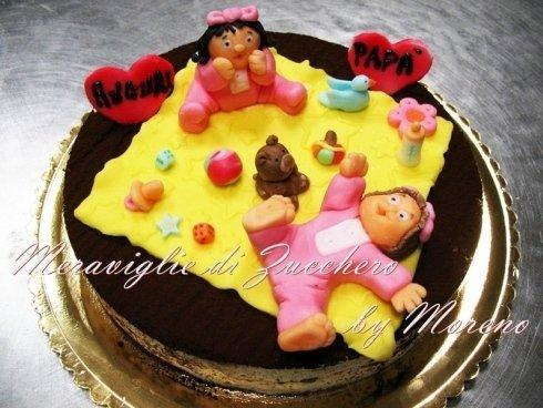 torta con pupazzi