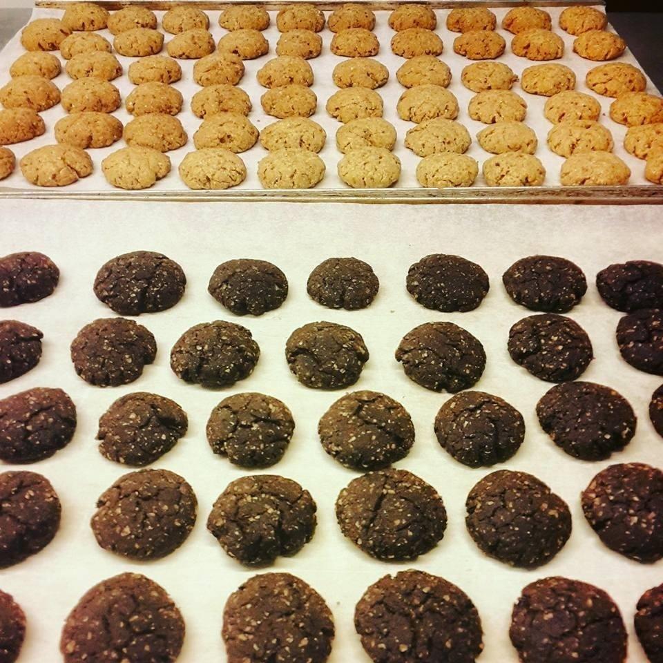 biscotti vegan cioccolato e cannella
