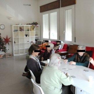 sala di una residenza per anziani