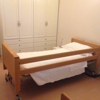 letto di una casa di riposo