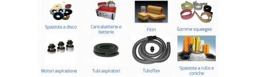 ricambi e accessori macchinari pulizia industriale