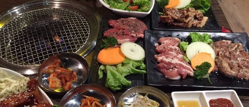 Great River Korean BBQ Restaurant Hero1