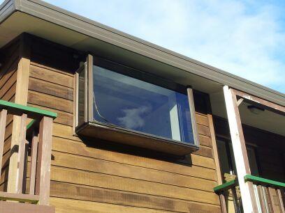 Serviced double glazed window