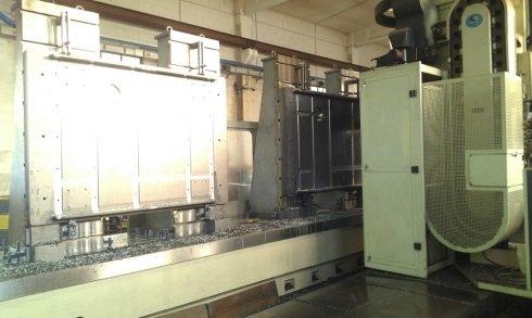 Lavorazione CNC Doppio Basamento