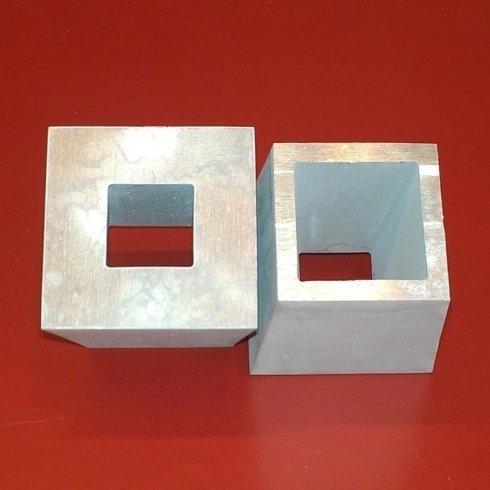 Alluminio 50mm con Doppia Inclinazione