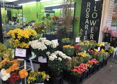 Rosarie's flower shop