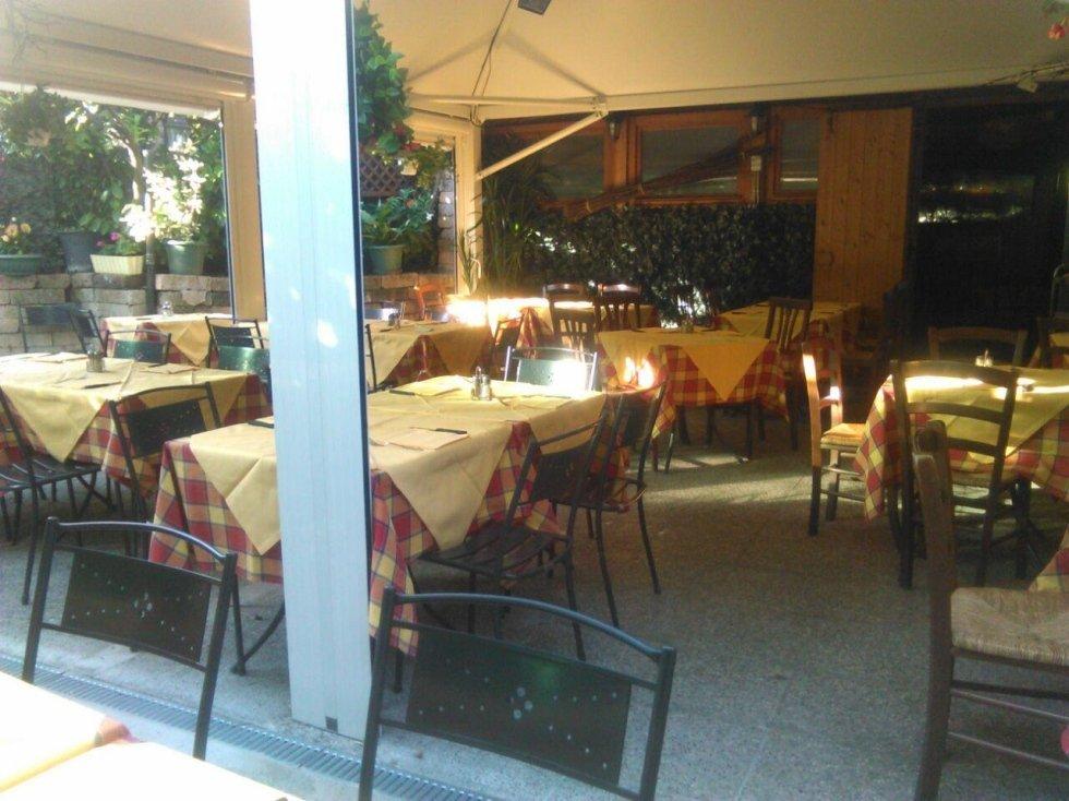Tavoli pizzeria Il Sellaio