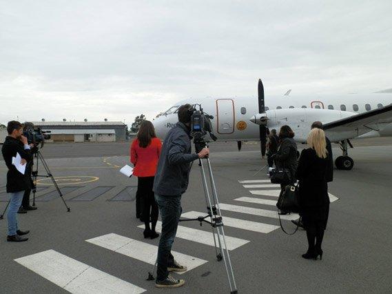 filming plane