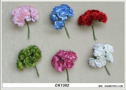 fiorellini per centrini portaconfetti