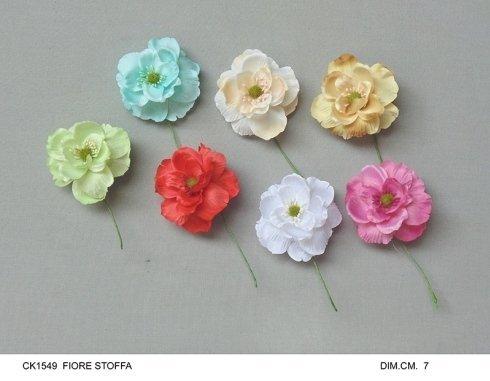 fiore stoffa