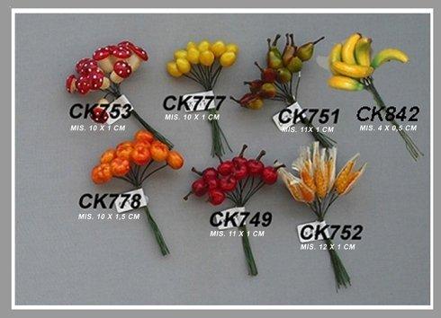 frutta artificiale per bomboniere