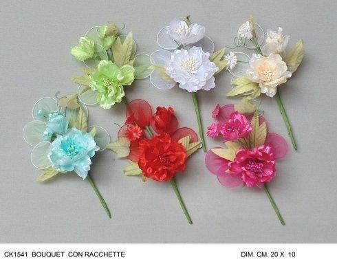 bouquet con racchette