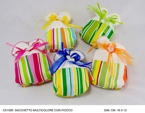 sacchetti multicolore