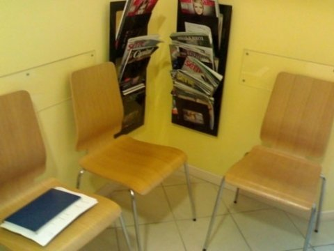 Sala d'attesa dentista