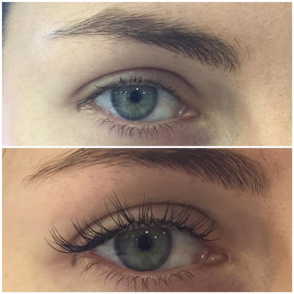 Make up occhi - prima e dopo