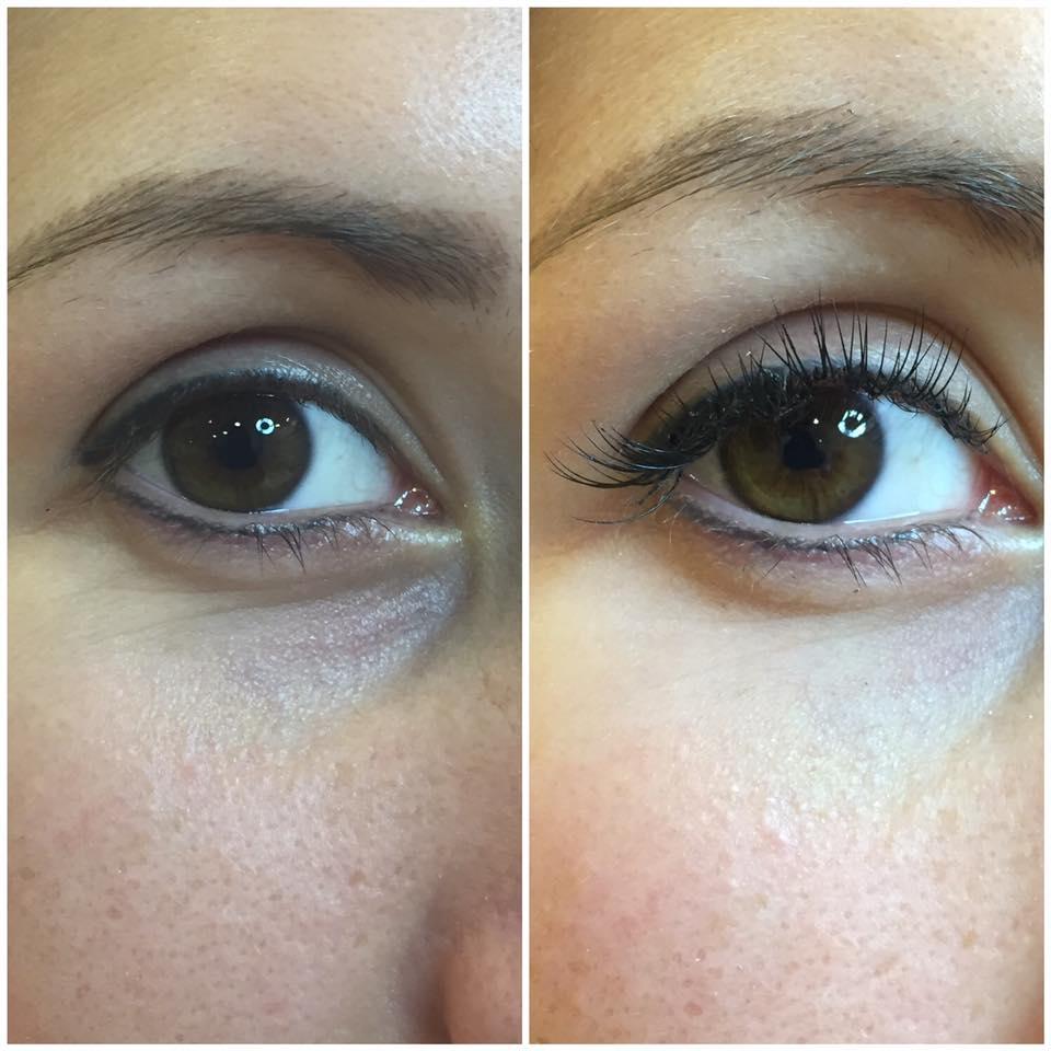 Make-up occhi - prima e dopo ad Anzio