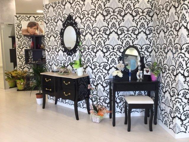 Arredamento del salone di bellezza