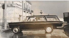 primo carro funebre, foto bianco e nero, foto antica