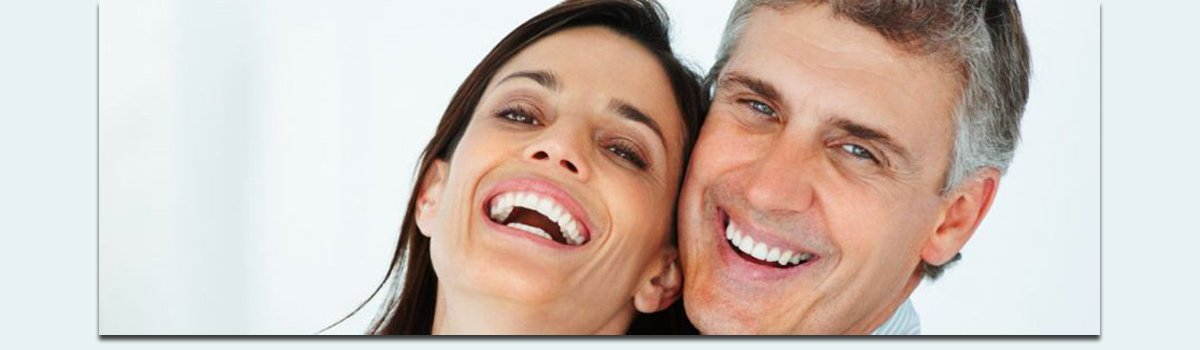 bedford fair dental surgery smiling man and woman smiling