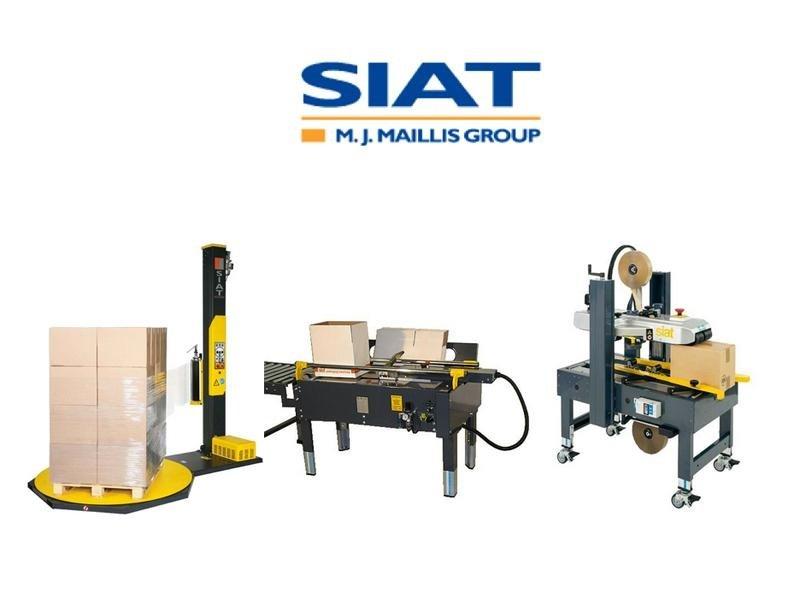 macchinari per il packaging della marca SIAT
