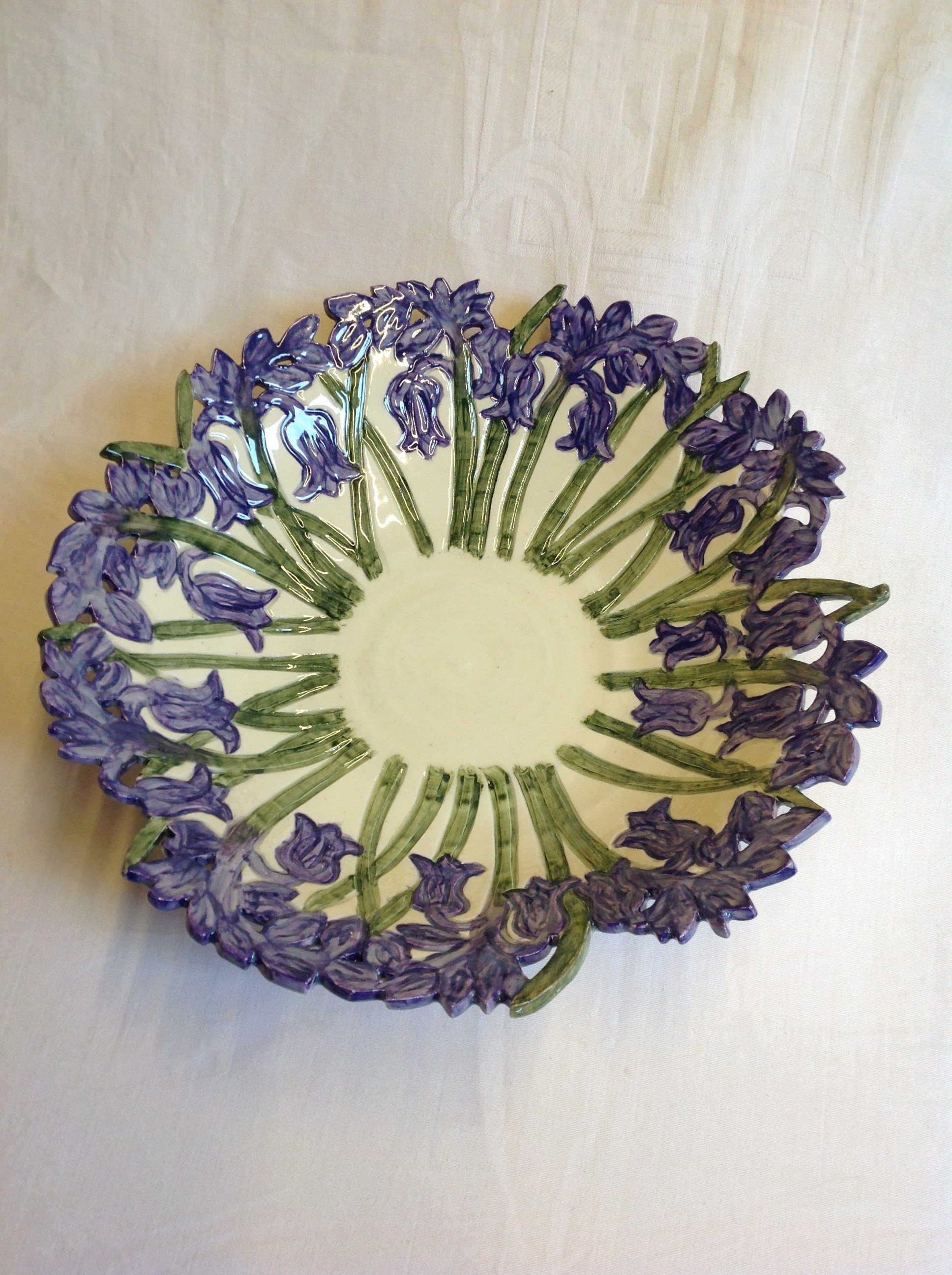 lavender fruit bowl