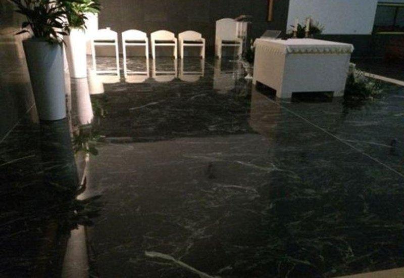 Pavimenti in marmo per chiese