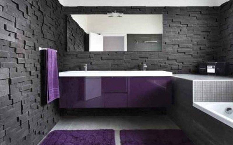 Rivestimenti  per bagni e cucine in pietra lavica