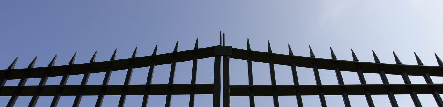 One of the fences and gates in Timaru