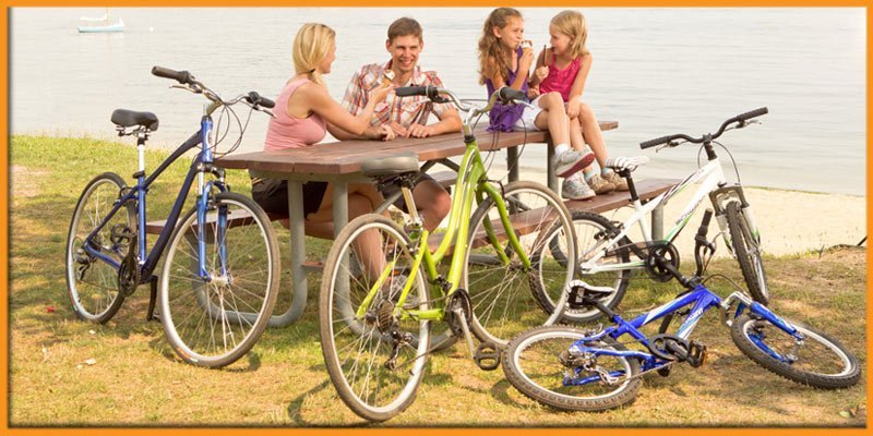 south east cycles happy family with bikes