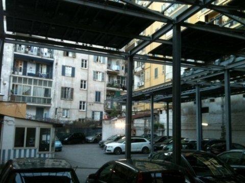 Garage Megellina parcheggio