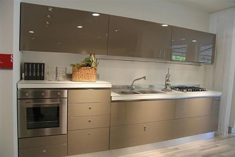 cucina colore grigio