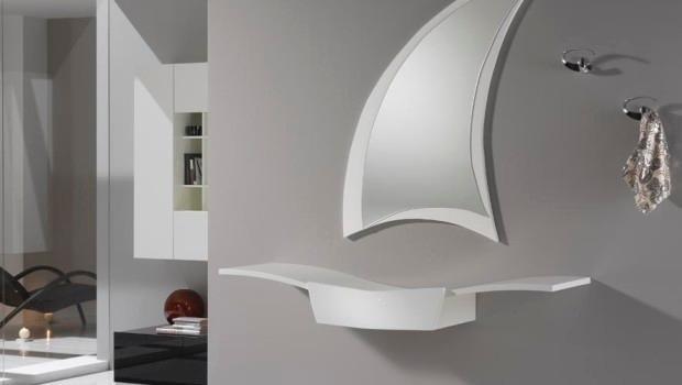 specchio e mensole personalizzate