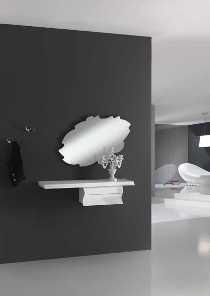 specchio forma frastagliata