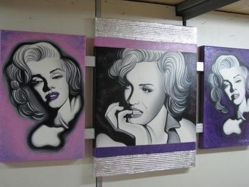 stampe su tela di Marilyn Monroe