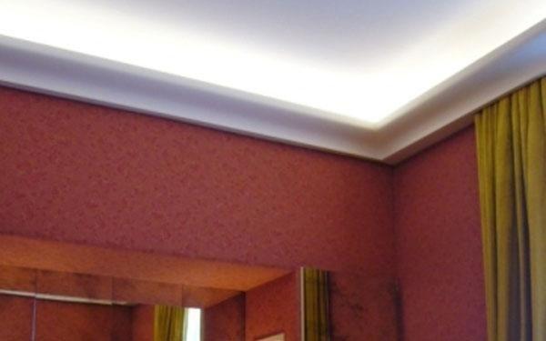 neon soffitto