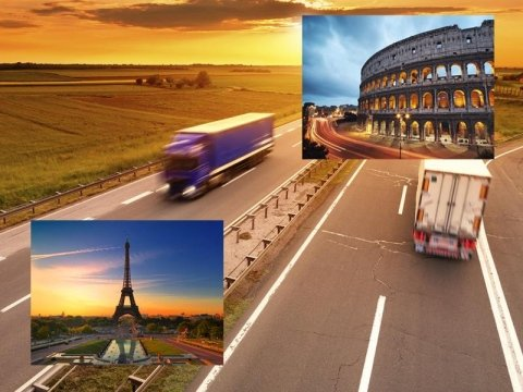 Shipping Italy - France