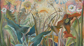 dipinti su tela lucca, dipinti su tavola lucca, dipinto paesaggistico